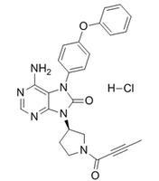 ONO-4059 hydrochloride CAS:1439901-97-9