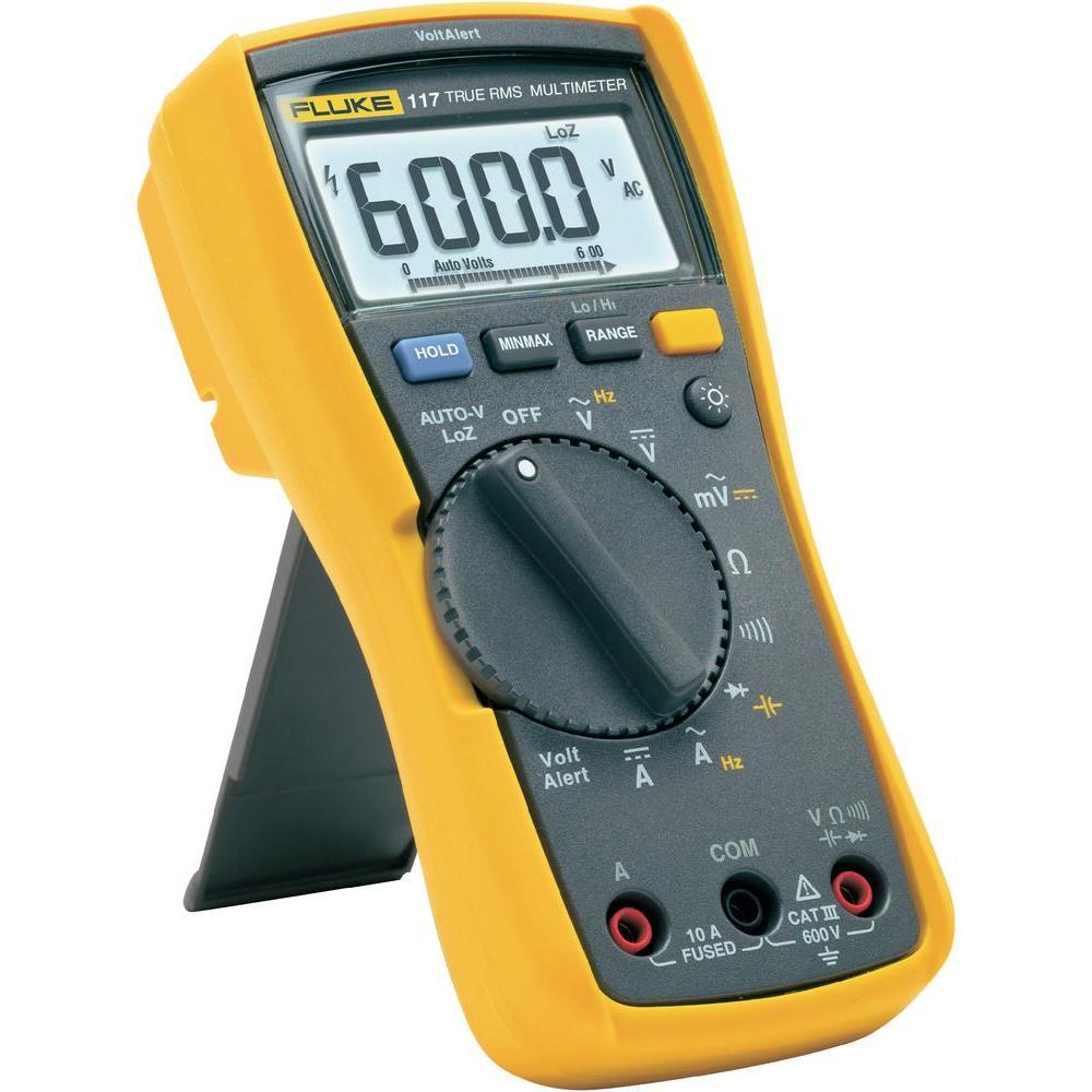 美國FLUKE公司的FLUKE 117C型數字萬用表是適合于商業應用的緊湊型真有效值儀表。福祿克F117C數字萬用表是適用于在商業樓宇、醫院和學校等要求苛刻的環境中使用的儀表。福祿克F117C數字萬用表包括集成的非接觸式電壓檢測功能,可幫助更快速地完成測量工作。