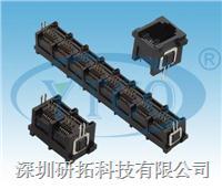 RJ45网络插座带定位柱 6052-8P8CXXXXXXXXXXX