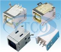 USB B型母座 6422-104FXXXXXXX312