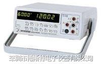 固纬GOM-802台式数字万用表 GOM-802