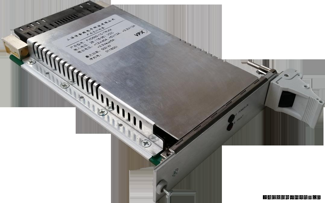 500W,DC24V輸入,3U5HP風冷VPX電源,符合VITA 62及OpenVPX標準