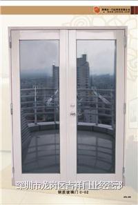 深圳玻璃防火门 钢质玻璃门