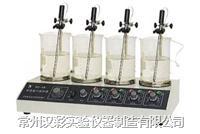 多头控温磁力搅拌器 HJ-6B  HJ-6B