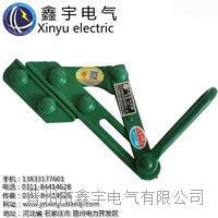上海式钢丝绳卡线器地线钢丝紧固器电力拉线铁夹头紧线鬼爪铁丝