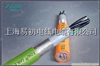 聚氨酯屏蔽拖链电缆,聚氨酯拖链电缆 EKM719系列