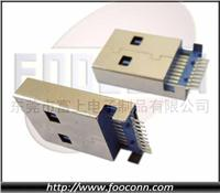 USB 3.0 AM 沉板SMT 3.15mm高|USB 3.0 AM 沉板SMT|USB 3.0 A公 沉板SMT 3.15mm高|USB 3.0 沉板公头 USB 3.0 AM 沉板SMT 3.15mm高