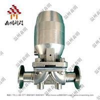不銹鋼氣動隔膜閥-衛生級