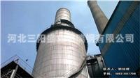 电厂大型脱硫塔设计
