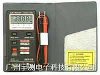袋装迷你数字万用表DE320P 台湾得益 DE320P