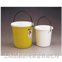Nalgene气密提桶,白色低密度聚乙烯,7102-0080