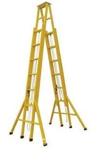 电工梯子,高压线检修绝缘梯,带电作业单梯 ST