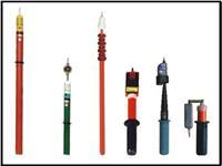 HT-008高压验电器 110kv高压声光伸缩验电器 电厂专用验电器 HT-008