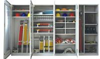 ST电力智能LED显示屏安全工具柜 绝缘除湿工具柜 ST