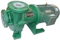 CQB-F氟塑料磁力驱动泵,耐强硫酸氟合金磁力泵