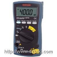[CD770数字万用表|日本三和SANWA手持式万用表] CD770