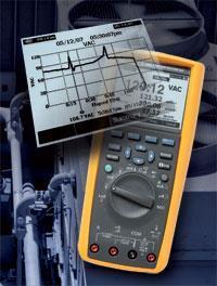 Fluke 289C真有效值工业用记录万用表|高级数字万用表 F289C