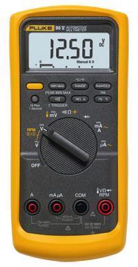 Fluke 88V 汽车数字万用表|汽车诊断多用表 F88-V