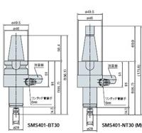 SMS401系列气动高速主轴进口动力钻40000转北京特价 SMS401
