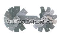 272ME日本富士FUJITOOL不锈钢半径规 272ME