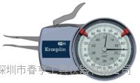 德国进口英制指针式厚度测量内卡规H602规格0.10-0.50inch江苏特价 H602
