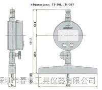 日本PEACOCK孔雀高精密深度计T1-257 T1-257
