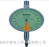 进口孔雀PEACOCK指针式比测型千分表15Z分度值0.001范围0.16mm 15Z