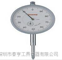供应进口日本孔雀PEACOCK机械指针式百分表207F-T范围20mm四川特价 207F-T