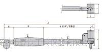 进口日本孔雀PEACOCK测通孔缸径规CC-4测量范围100-160四川特价 CC-4
