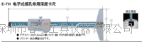 日本中村KANON电子式细孔专用深度卡尺E-TH30B测定范围0-300特价销售 E-TH30B