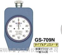 优势供应日本得乐TECLOCK硬度计GS-709N邵氏硬度计A型邵氏橡胶硬度计 GS-709N