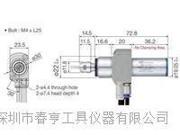 供应高精密打磨机 走芯机专用进口高频铣型号BM-322FL柄径22转速60000带法兰