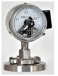 磁助电接点压力表 st06
