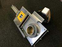 意大利Control logic康洛吉SER852中型吊拉窗式管道切断阀门 SER852