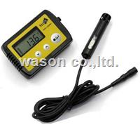 External probe temperature & humidity data logger WS-TH23PRO