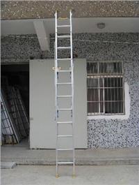 ST铝合金三节拉升梯 ST