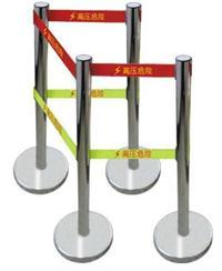 WL警示带不锈钢伸缩围栏,安全围栏,警示带安全围栏,带式不锈钢伸缩围栏 WL