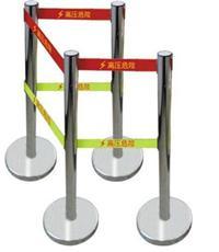 ST定做不锈钢伸缩围栏 单带双带伸缩围栏 5米带式伸缩围栏 ST