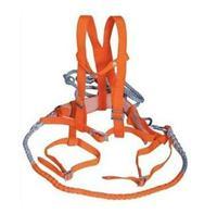 ST黄全保险安全带 双背双跨安全带 全保险电力安全带 ST