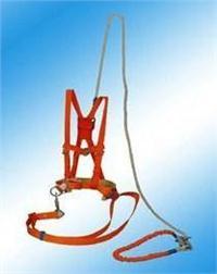 ST单保险安全带,作业防护红色安全带 ST