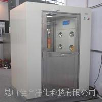 贵州304不锈钢风淋室单人双吹风淋门光电感应电子连锁风淋房 094