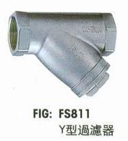 台湾富山不锈钢Y型过滤器