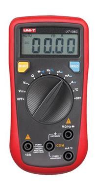 UT136C自動量程數字萬用表 UT136C