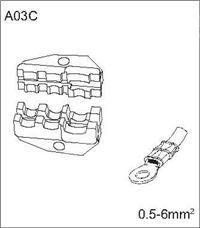 A03C 可选配钳口 A03C