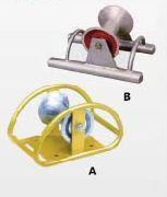 钢管架式电缆滑轮(A、B) 钢管架式电缆滑轮(A、B)