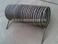 西安不锈钢弯管盘管来图来样加工