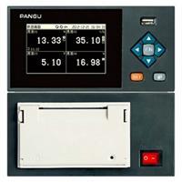 现场打印记录仪 VX4000有纸记录仪 4通道记录仪 记录打印一体记录仪