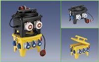 12位移动式防水插座箱