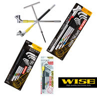 PIS810  汽车配修六角扳手||WISE若穗田|一套可能几年的品牌品质有保障|