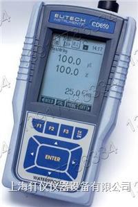 Eutech优特 CD650便携式多参数防水型水质分析仪